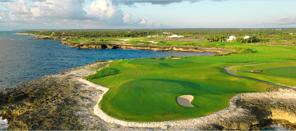The Corales Golf Club designed by Tom Fazio at the Puntacana Resort & Club